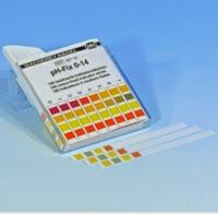 Fita para corrigir pH