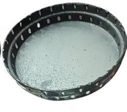 Fazer pasta limpa tampinha de fogão e alumínio